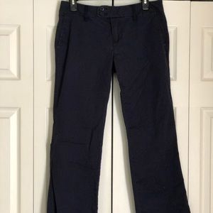 Navy Blue Bootcut Dress Pants